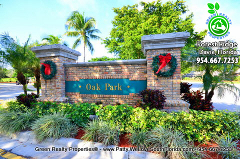 Forest Ridge Davie Homes For Sale
